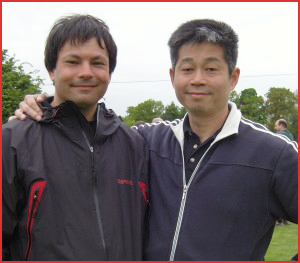 Sifu Adam Wallace and Master Michael Tse