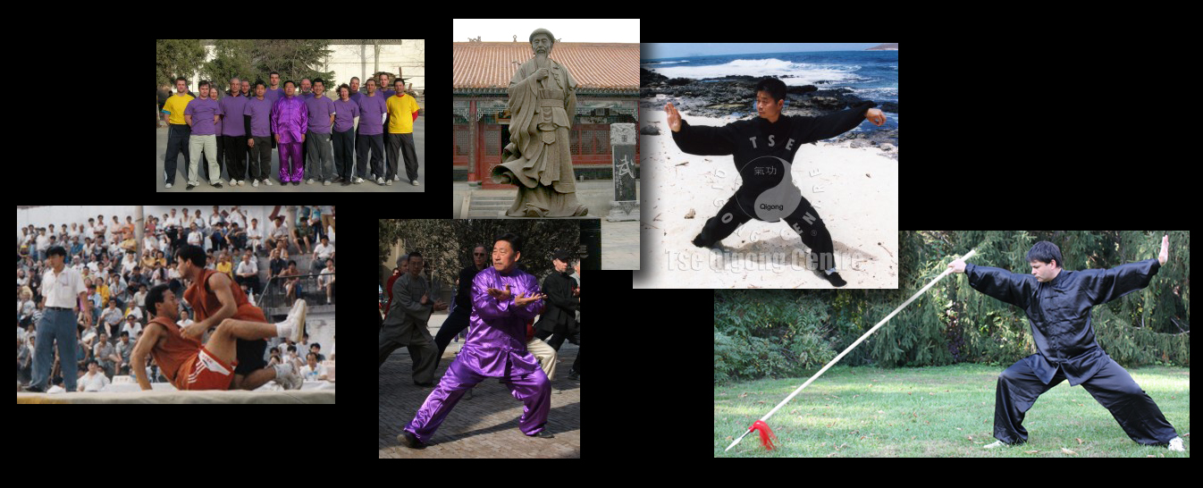 Chen Taijiquan - Adam Wallace Chinese Health and Martial Arts - Montage